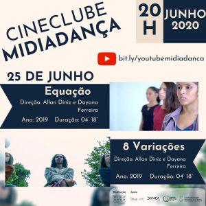 Sessão 2 - Cineclube Midiadança